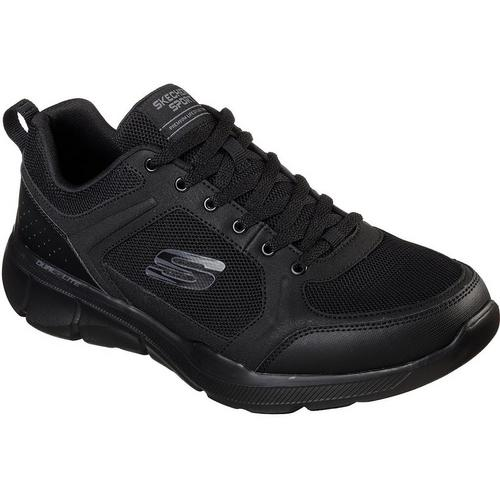 Skechers Equalizer 3.0 Deciment Navy Gray Mens Athletic Running Shoes