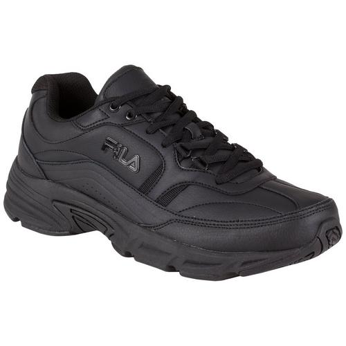 Fila Mens Memory Workshift White Walking Shoes