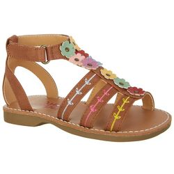 Rachel Toddler Girls Tatiana Floral Sandals