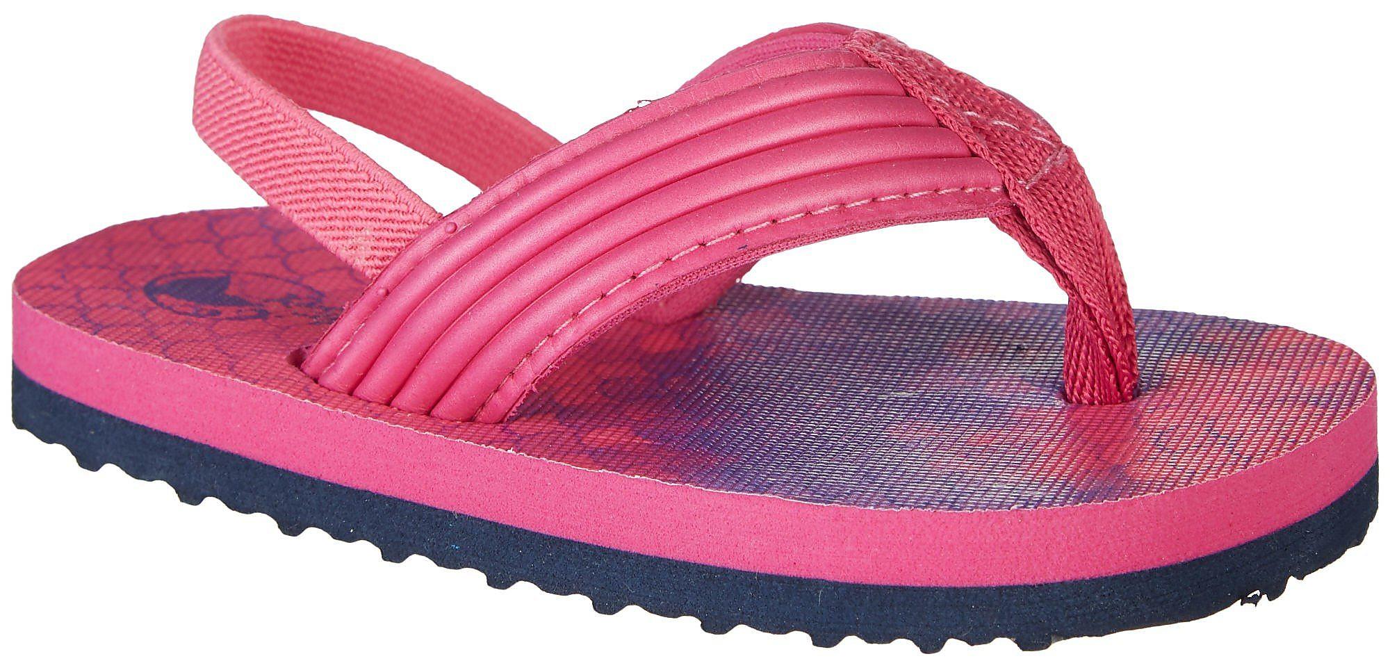 a1d75a0c082 Reel Legends Toddler Girls Libby Water Flip Flops