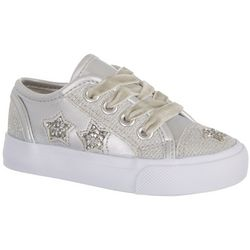 Legendary Laces Toddler Girls Olivia Star Sneakers