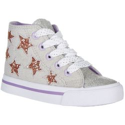 Legendary Laces Toddler Girls Izzie Stars Sneakers