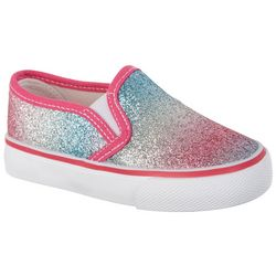 Legendary Laces Toddler Girls Megan II Slip On Shoes