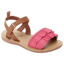 OshKosh B'Gosh Toddler Girls Frilla Casual Sandals