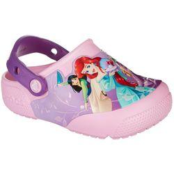 Crocs Toddler Girls Fun Lab Lights Princess Clogs