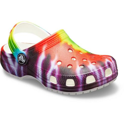 2ed96c71c12 Crocs Toddler Girls Tie Dye Classic Clogs | Bealls Florida