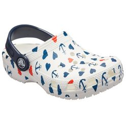 Crocs Toddler Girls Classic Anchor Clogs