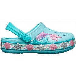 Crocs Toddler Girls Fun Lab Mermaid Clogs