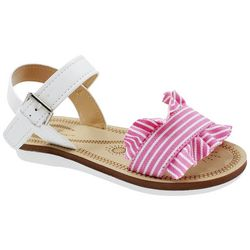 Adrienne Vittadini Little Girls Jazzy Ruffle Sandals