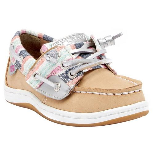 0e9da560609 Sperry Girls Songfish Jr. Boat Shoes