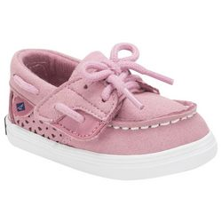 Sperry Toddler Girls Bluefish Crib Jr. Boat Shoes