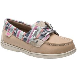 Sperry Girls Shorerider 3 Eye Boat Shoes