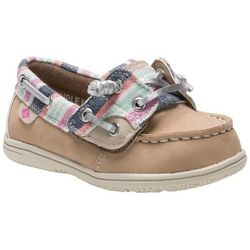 Sperry Toddler Girls Shorerider Jr. Boat Shoes