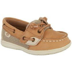 Sperry Toddler Girls Shoresider Boat Shoes