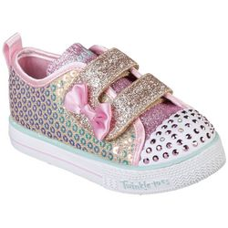 Skechers Toddler Girls Shuffle Lite Mini Mermaid Shoes