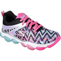 Skechers Girls Skech-Air Groove Black Athletic Shoes