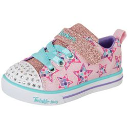 Skechers Toddler Girls Twinkle Toes Sparkle Lite Shoes