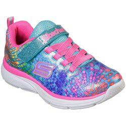 Skechers Girls Wavy Lites Athletic Shoes