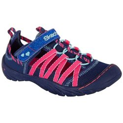 Skechers Little Girls Summer Steps Sandal