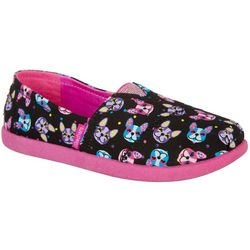 Skechers Girls Lil BOBS Paw-Some Shoes