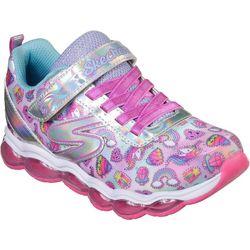 Skechers Girls Glimmer Lights Sparkle Dreams Athletic Shoes