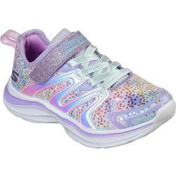 Skechers Girls Double Dreams Unicorn Kisses Athletic Shoes
