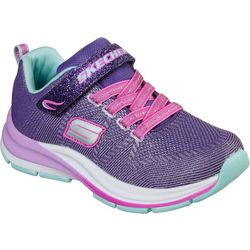 Skechers Girls Double Strides Duo Dash Athletic Shoes
