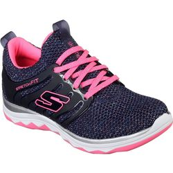 Skechers Girls Diamond Runner Athletic Shoes