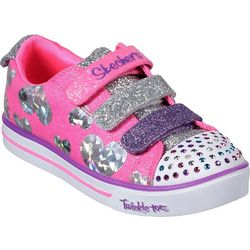 Skechers Girls Sparkle Lite Casual Shoes