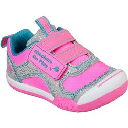 Skechers Toddler Girls Flex Party Athletic Shoes