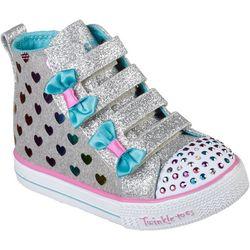 Skechers Toddler Girls Twinkle Toes Fancy Flutters Shoes