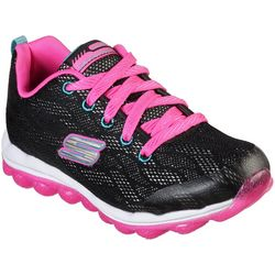 Skechers Girls Air Sparkle Jumper Athletic Shoes