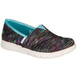 Skechers Girls Pureflex Sparkle Lite Slip-On Shoes
