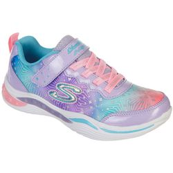 Skechers Little Girls Power Petals Athletic Shoes