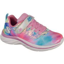 Skechers Girls Quick Kicks Alicorn Wings Athletic Shoes
