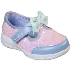 Skechers Toddler Girls GOwalk Joy Sugary Athletic Shoes