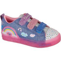 Skechers Girls Twinkle Toes Shuffle Shoes