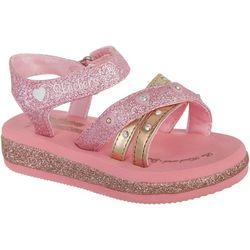 Skechers Toddler Girls Twinkle Toes Sunshine Sanda