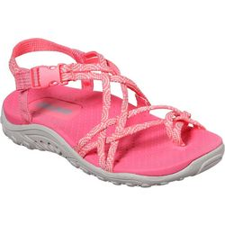 Skechers Girls Miss Adventure Reggae Sandals