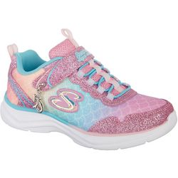 Skechers Girls Glimmer Kicks Athletic Shoes