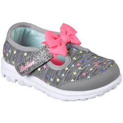 Skechers Toddler Girls GOwalk Starry Casual Shoes