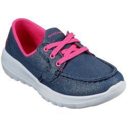 Skechers Girls GOwalk Joy Shore Brights Shoes