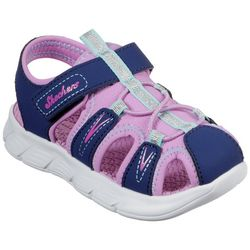 Skechers Toddler Girls Aqua Steps Flex Sandals