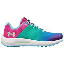 Under Armour Girls Pursuit Prism Athletic Shoes