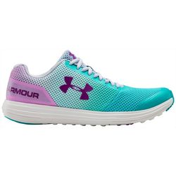 Under Armour Girls Surge RN Prism Athletic Shoes