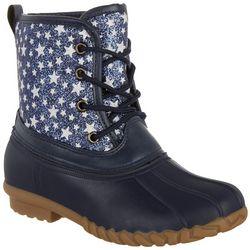 Olivia Miller Girls Star Duck Boots