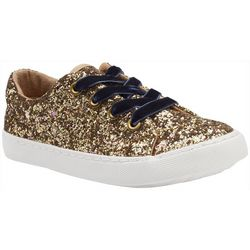 Olivia Miller Girls Glittered Sneakers