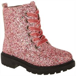 Olivia Miller Girls Glitter Boots
