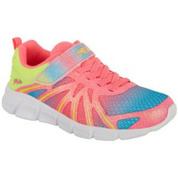 Fila Girls Fraction Strap Athletic Shoes