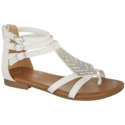 e80d3b685dcd Jellypop Girls Cyndi Gladiator Sandals